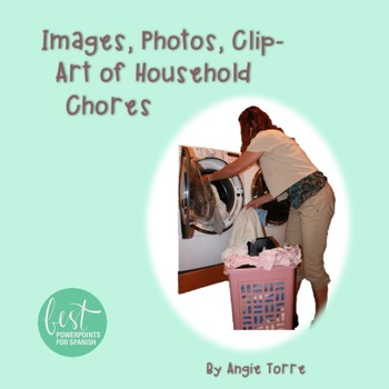 Images, Photos, Clip-Art of Household Chores