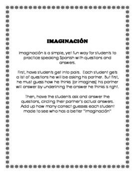 Imaginación - Leisure Activities