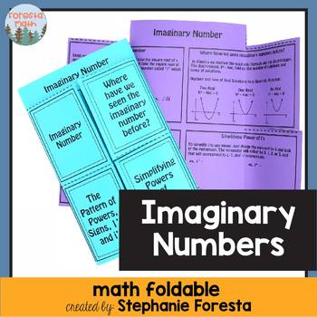 Imaginary Number Foldable