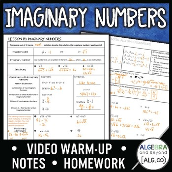 Imaginary Numbers Lesson