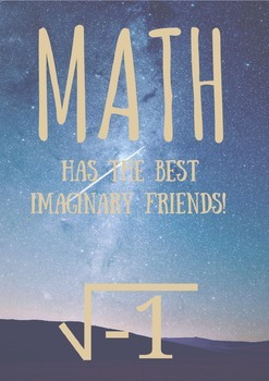Imaginary Numbers Poster Print