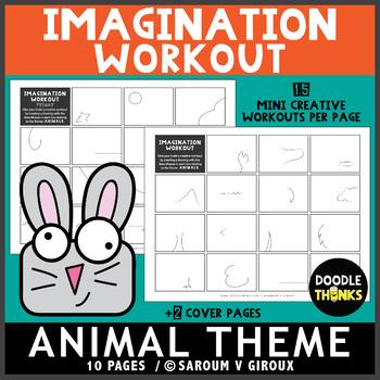 Animal Theme Imagination Workout Printables