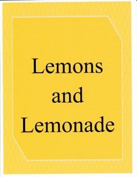 Lemons and Lemonade:  Imagine It - Grade 3
