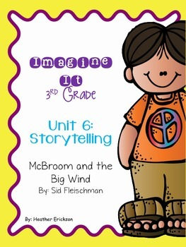 Imagine It McBroom and the Big Wind Grade 3 {Editable}