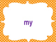 Imagine It Sight Words, First Grade M-Y (Fluency Style)