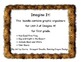 Imagine It! Unit 2 Graphic Organizers for First Grade