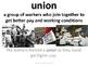 Imagine It Unit 6 Lesson 5 Cesar E. Chavez Picture Vocabul