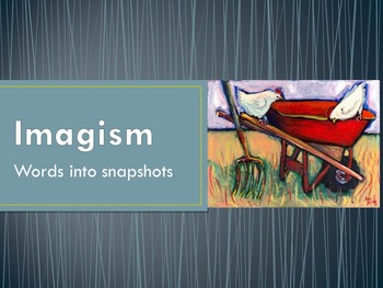 Imagist Poetry: Interactive Lesson with Modern Art and Music