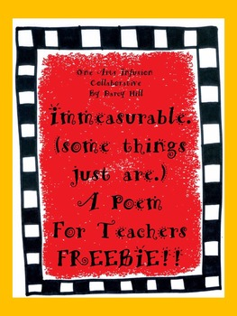 Immeasurable (some things just are) A Poem For Teachers FR