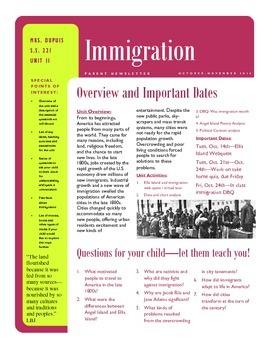 Immigration - ENTIRE UNIT