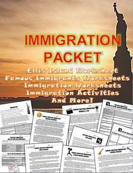 Immigration, Immigrants, Ellis Island, and Famous Immigran