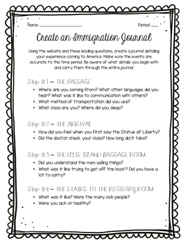 Immigration Journal