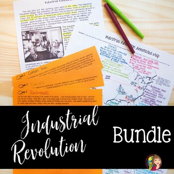 Immigration and Industrial Revolution Activities