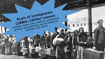 Immigration in the Gilded Age & Progressive Era Lesson w/ Sources