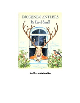 Imogene's Antlers mini Unit Plan