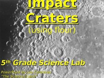 Impact Craters (Science TEKS 5.8D)