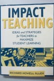 Impact Teaching bu Richard Howell Allen