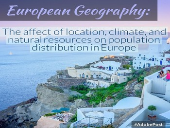 Impact of Location, Climate, and Natural Resources in Europe.