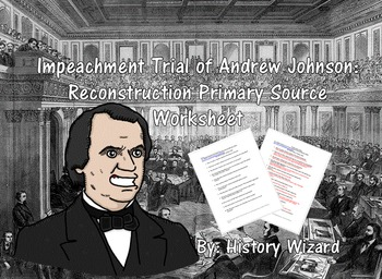 Impeachment Trial of Andrew Johnson:Reconstruction Primary