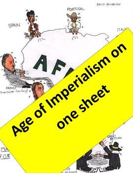 Imperialism Graphic Organizer  11 x 17!  Key & imperialism