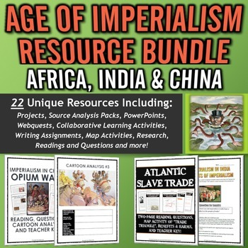 Age of Imperialism MEGA Resource Bundle (Africa, India and