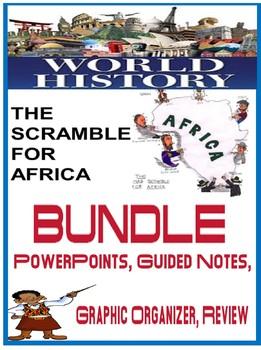 Imperialism Scramble  Africa PowerPoint, fill in notes, gr