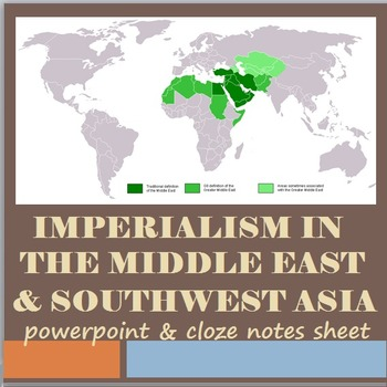 Imperialism in the Middle East and Southwest Asia
