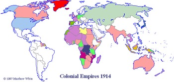 Imperialism map and directions