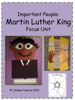Important People: Martin Luther King Focus Unit