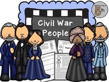 Civil War - Important People