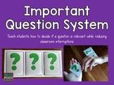 Important Questions Interrupting System {FREEBIE}