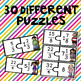 Improper Fractions and Mixed Number Puzzles