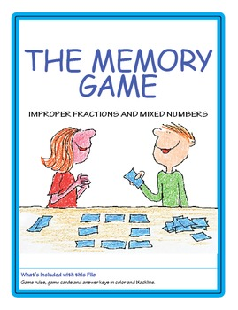 Improper Fractions and Mixed Numbers ★ FREEBIE ★