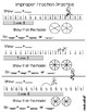 Improper Fractions and Mixed Numbers:  How We Get 'Em and