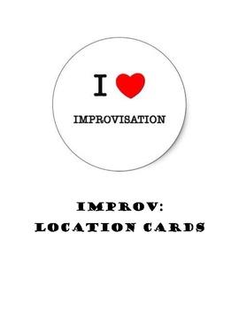 Improv:  Location Cards