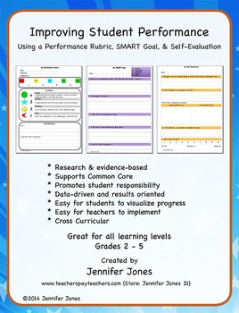 Improving Student Performance Using A Rubric, SMART Goal,