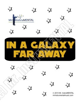 In A Galaxy Far Away - An Easy Star Wars/Trekish Song for Band