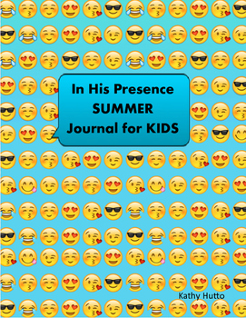 In His Presence Summer Journal for Kids