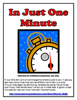In Just One Minute!