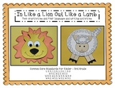 In Like a Lion Out Like a Lamb:  Craftivity and Four Langu