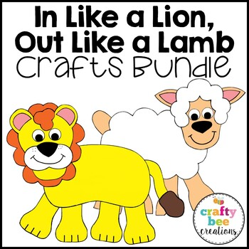 In Like a Lion, Out Like a Lamb Cut and Paste Set