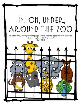 In, On, Under, Around the Zoo: An Interactive Concepts of