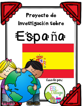 In Spanish | Spanish Speaking Countries: Spain {Research Project}