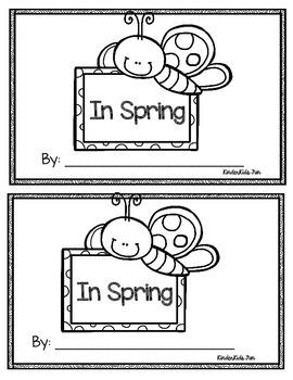 In Spring Emergent Reader
