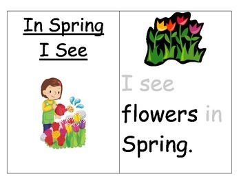 In Spring I See-Guided Reading Book