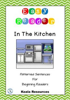 In The Kitchen Easy Reader Patterned Sentences For Beginne