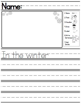 In The Winter Writing Prompt