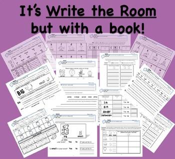 In Your Text!  Word Work, Kindergarten