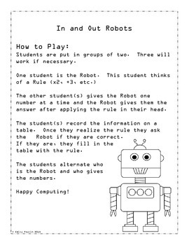 In and Out Robots