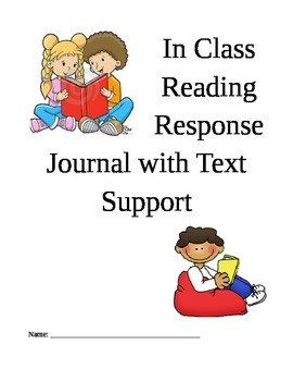 In-class or Home Reading Journal